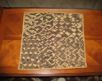 Vintage African Kuba Shoowa Cloth