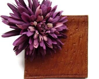 Genuine Leather Bifold Wallet; Bifold, Bifold Wallet, Bifold Card Wallet, Exotic Leather Wallet, Genuine Leather Wallet