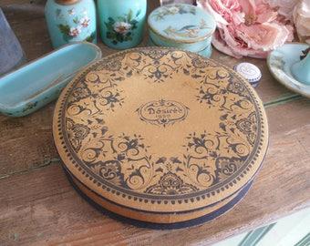 Vintage French chocolate box, Desiree 1950
