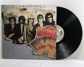 Traveling Wilburys Volume One vinyl record 1988 EX Rock - Tom Petty, Bob Dylan, Jeff Lynne, George Harrison, Roy Orbison