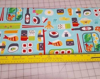 Robert Kaufman Bento Box cotton woven 1yd