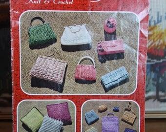 Vintage Crochet Bag Patterns - Myart Book 8