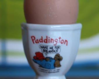 Vintage Retro  Paddington Bear China Egg Cup