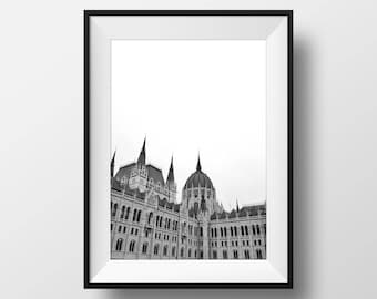 Parliament Building, Budapest - Photography Print