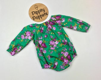 Baby Girls Romper / Playsuit - Size 0000 - 3