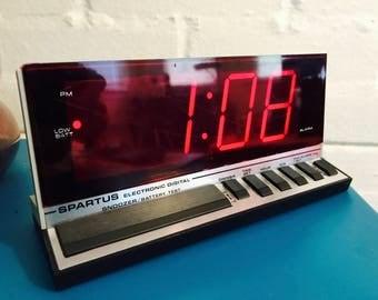 Vintage Spartus Alarm Clock