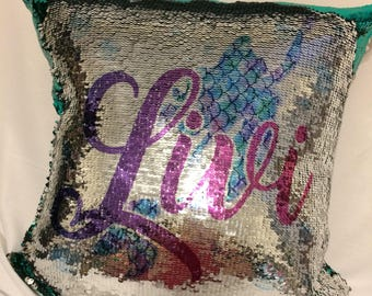 Personalized Mermaid Pillows
