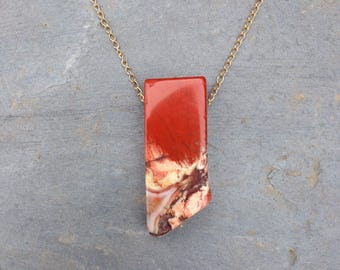 Jasper Necklace / Reversible necklace