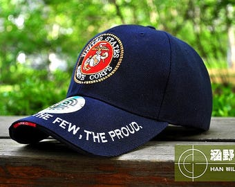 US Army Marines Caps Snapback Tactical Baseball Hat Strap back Mountaineer Travel Bone
