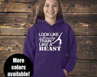 Beauty Beast Gymnastics Hoodie