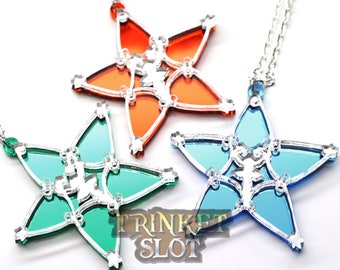 Kingdom Hearts Wayfinder Kairi Sora Ventus Terra Riku Cosplay Charm Necklace *Special Colors*
