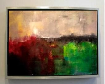 Abstract Landscape 11 Original Oil Painting (50cm x 40cm)