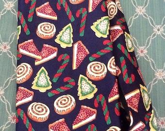 Festive Christmas Necktie