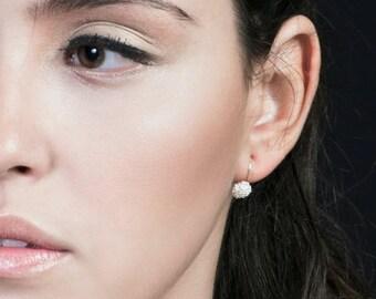 SALE15% Dangle Earrings, Small Earrings, Small Dangle Earrings, Small Silver Earrings, Silver Earrings, Unique Earrings, Elegant Earrings,