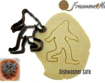 Sasquatch/Bigfoot Cookie Cutter/Multi-Size/Dishwasher Safe