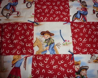 Cowgirl Doll Quilt