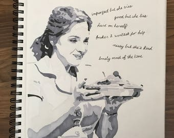 Jessie Mueller - Waitress Drawing