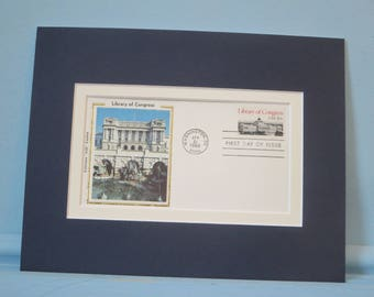 Honoring the Library of Congress & First Day Cover of its own stamp