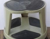 1960's Kik Step Rolling Stool!