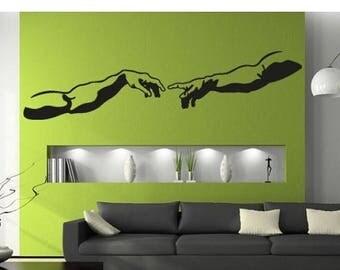 20% OFF Summer Sale The Creation wall decal, sticker, mural, vinyl wall art