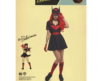 Simplicity Pattern 8432 Misses' DC Comics Bombshell Batwoman Costume
