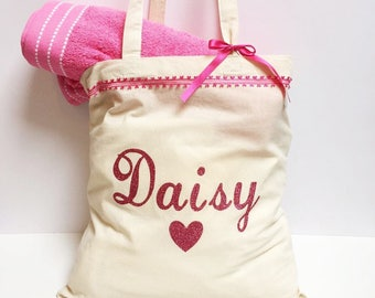 Girl's Personalised Bag