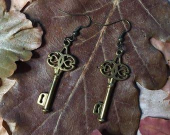 """Earrings """"Keys"""""""