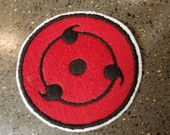Naruto- Sharingan Sew on Patch