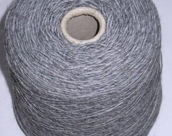 1 cone 550 gr grey Alpaca Merino Wool
