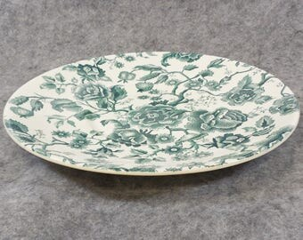 Clearance - Johnson Brothers English Chippendale Green Saucer for Giant Tea Cup Serving Bowl