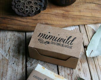 Paper packaging for soaps and candles
