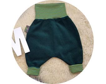 Mitwachsen trousers, harem trousers, harem pants, corduroy pants, pants, baby pants, baby,