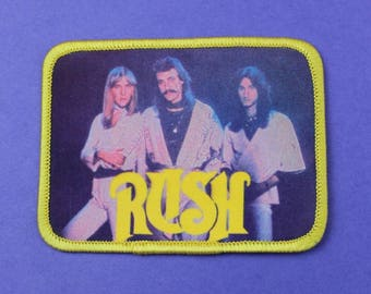NOS Vintage 1980s Rush 2112 Photo Patch