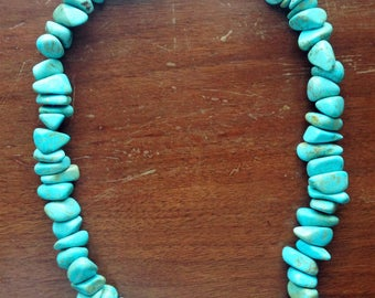 Turquoise necklace from Manuel's, Nashville collection
