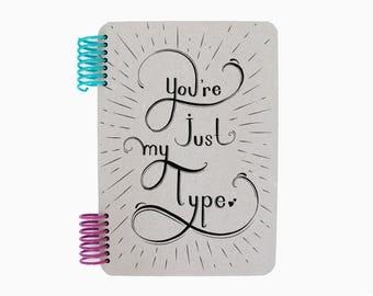 Typo Hand 1 Notebook