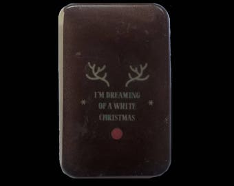 """Fantasy and original soap """" I'm Dreaming of a White Christmas """" Gingerbread fragrance"""