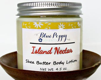 Island Nectar Moisturizing Body Lotion, Hand Lotion with Shea Butter