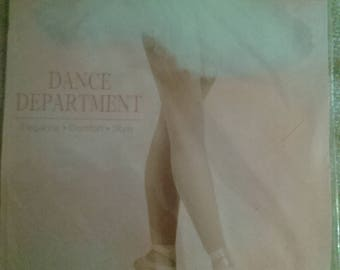 Dance Department LT Suntan Footed Tights Style T100 Size M