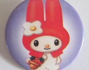 button round kawaii Japan 3cms decoration custo clothes and bags bunny bunnies rabbit