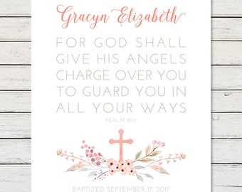 GODDAUGHTER BAPTISM GIFT, Baptism Printable, Baptism Gift Girl, Girl Baptism Gift, Girl Christening Gift, Baptism Gift, Baby Girl Baptism