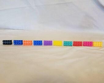 Livraison gratuite des blocs de construction anneau, anneau ajustable, pour enfant, Lego inspiré bague, anneau, jouet