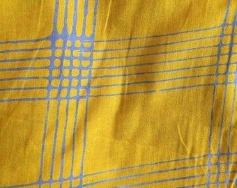 Chroma by Alison Glass Pattern 8132 Plaid Lemon by Andover Fabrics