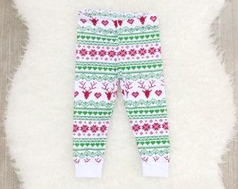 Christmas Leggings, Baby Leggings, Toddler Leggings, Christmas Baby Leggings, Baby Harems, Baby Leggings Boy, Baby Harem Pants, Christmas