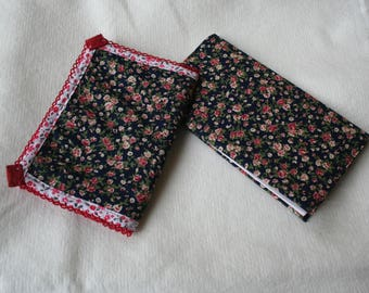 wallet - coin purse and liberty fabric checkbook cover