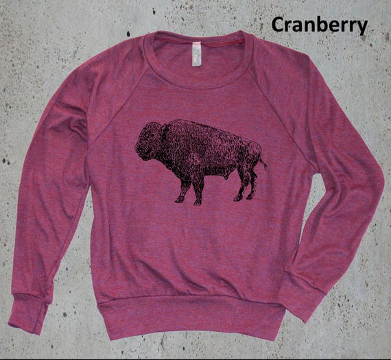 Items similar to womens vintage buffalo bison sweater for Selling shirts on etsy