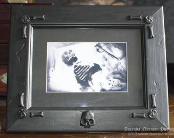 Memento Mori Skull Frame AN001