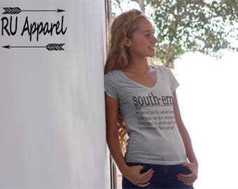 Southern Definition Shirt / Southern Belle Shirt / Preppy Shirt / Southern Girl Shirt / Definition Shirt / County Girl Shirt / Southern Tee