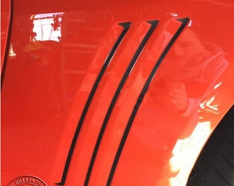 Side Vent Insert Vinyl Decal for Chevy Camaro SS RS LS 2010-2015