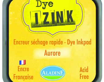 Dye - drying ink yellow Aurora Izink