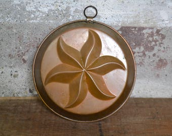 Old copper mold, old copper form, old italian copper, copper kitchenware, vintage copper kitchenware, vintage copper , copper pudding mold